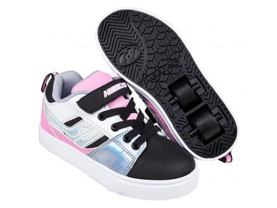 HEELYS Racer 20 X2 Black/Silver/White/Light Pink