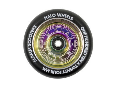 SLAMM Neochrome 110mm Halo Deep Dish Wheels