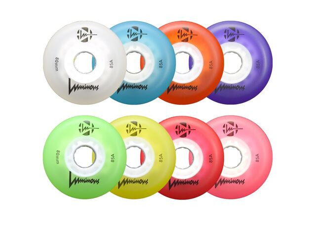 LUMINOUS WHEELS Inline LED Wheels 110mm (Unit) click to zoom image