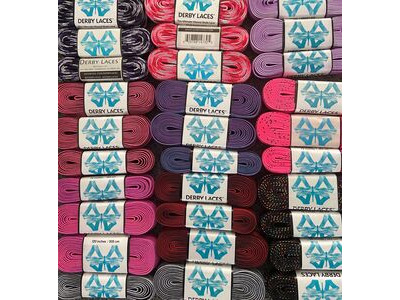 Derby Laces Waxed Roller Derby Laces 120""