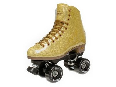 SURE GRIP Stardust Gold Skates
