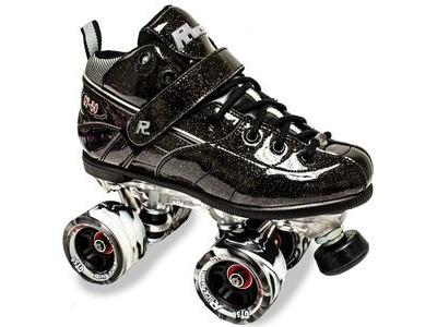 SURE GRIP Rock GT50 Black Sparkle Skates