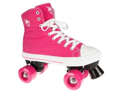 ROOKIE Canvass High Pink Skates