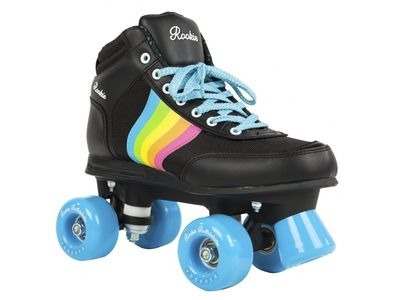 Rookie Forever Rainbow Black - Sizes UK6 - UK7