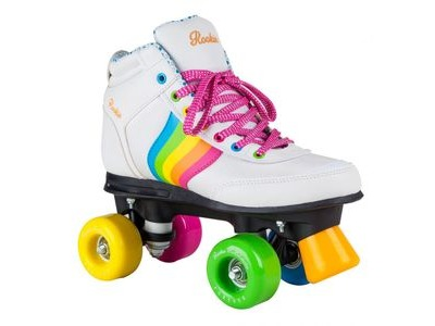 Rookie Forever Rainbow White - Size UK6 - UK7
