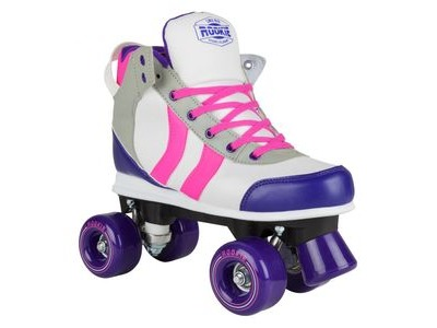 ROOKIE Deluxe Skates Pink/Grey