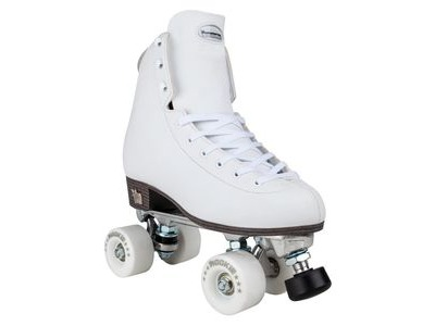 ROOKIE Artistic White Skates - Sizes UK3 to UK5