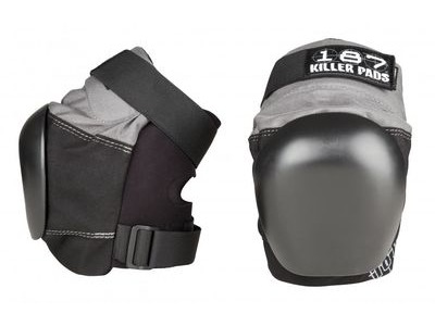 187 KILLER Pro Derby Knee Pads, Grey