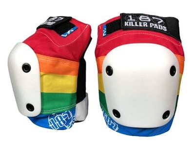 187 KILLER Slim Knee Pads Rainbow