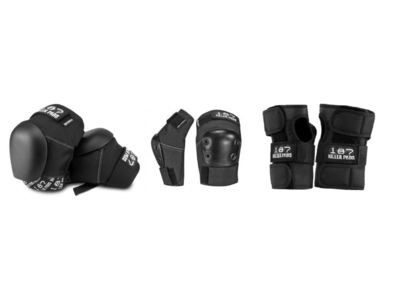 187 KILLER Pro Knees, Pro Elbow and Pro Wrist Pad Set