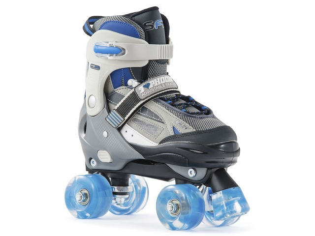 SFR Typhoon Adjustable Skates Blue click to zoom image