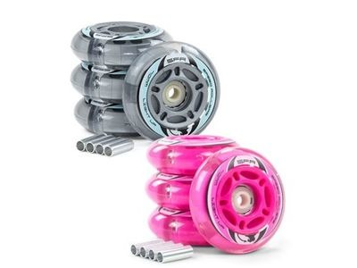SFR Light Up Inline Wheels 70mm