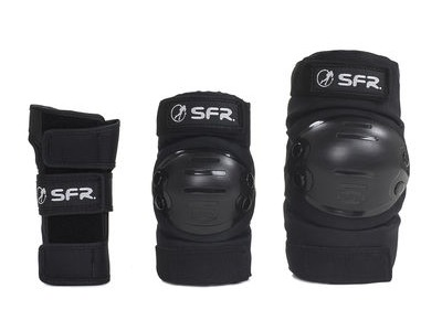 SFR Youth Triple Ramp Set Black