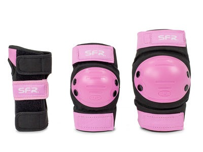 SFR Youth Triple Ramp Set, Black/Pink
