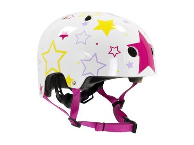 SFR SFR Adjustable Kids Helmet White/Silver