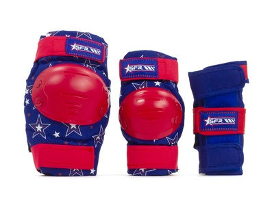 SFR Star Triple Pad Set Red/Blue
