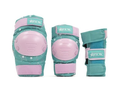 SFR Star Triple Pad Set Pink/Green
