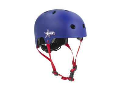 SFR Adjustable Kids Helmet Blue/Red