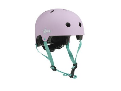 SFR Adjustable Kids Helmet Pink/Green