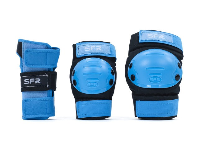 SFR Youth Triple Ramp Set Black/Blue click to zoom image