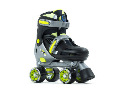 SFR Hurricane III Adjustable Skates, Black/Yellow
