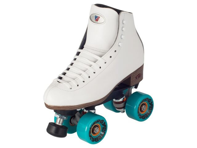 Riedell Celebrity White Skates click to zoom image