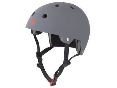 TRIPLE EIGHT Brainsaver Helmet, Gun Matt Rubber