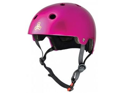 TRIPLE EIGHT Brain Saver Helmet, Metallic Pink