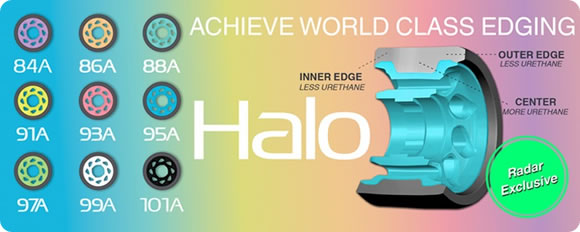RADAR Halo Skate Wheels